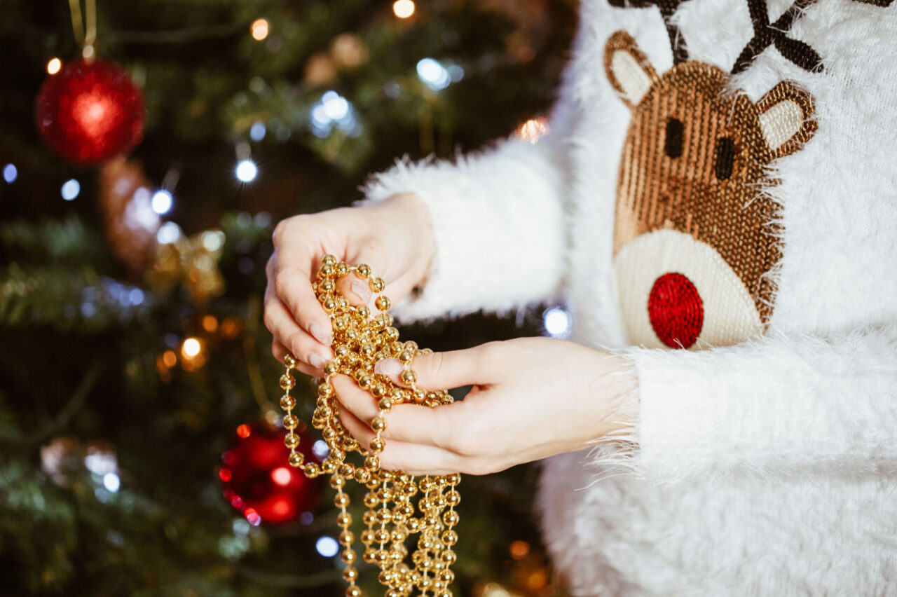 Foute kersttrui