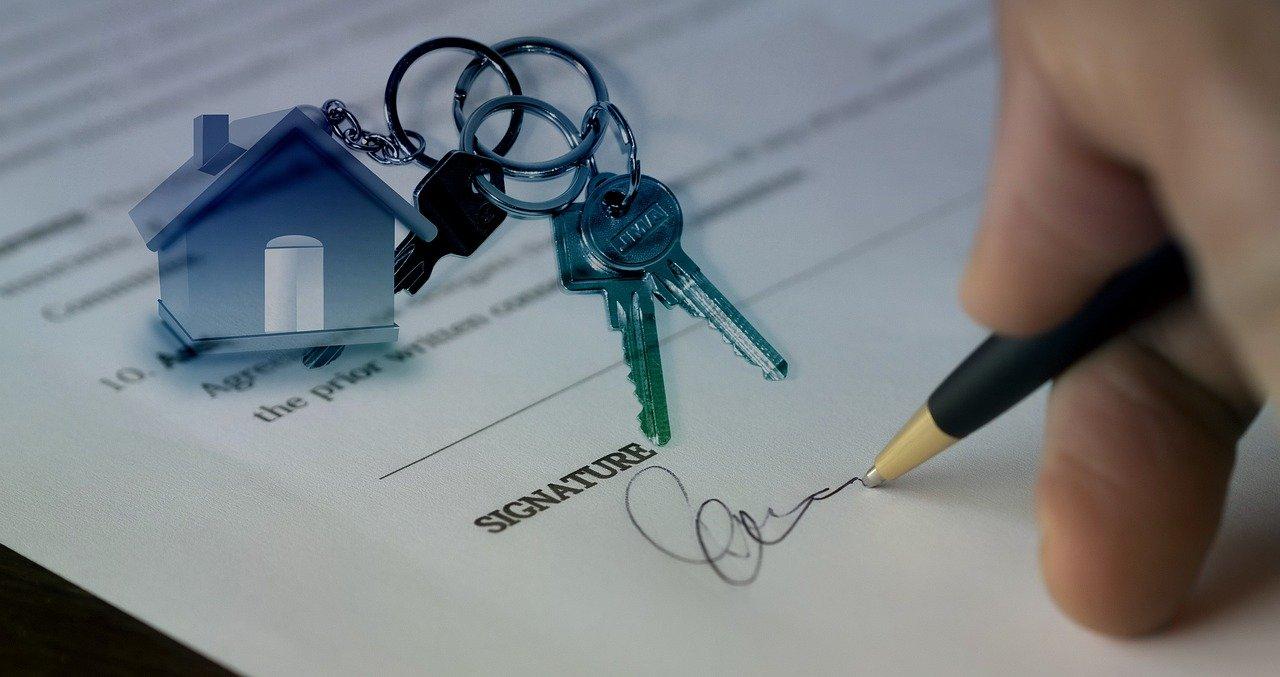 Koopcontract tekenen